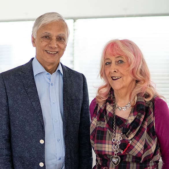 Nick and Fran Mohindra - Co-founders of Oralift