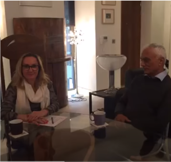 Dr Mohindra interviewed by a Brazilian aesthetic doctor