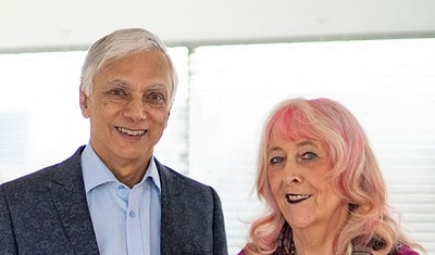 Nick and Fran Mohindra - Founders of Oralift